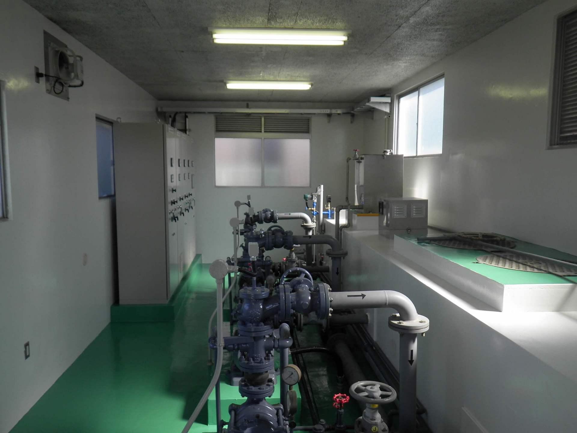 益城町高遊原簡易水道第2加圧所
