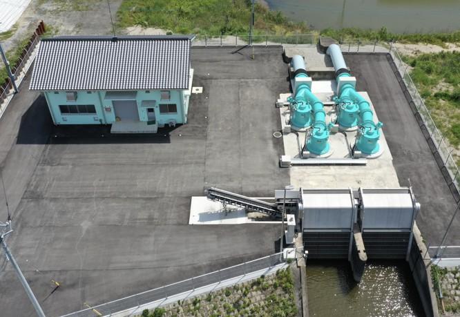 横島排水機場